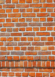Brick Wall. The red brick wall background Stock Photos