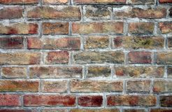Brick wall. Can use like texture Royalty Free Stock Image