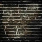 Brick Wall. Background illustration of a black brick wall Royalty Free Stock Photos