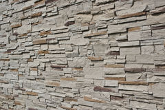Brick wall. Pattern of brick wall in side view Stock Photography