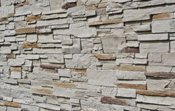 Brick wall. Pattern of brick wall in side view Royalty Free Stock Photos