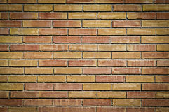 Brick Wall. A nice brick background shading in the corners Stock Photo
