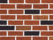 Brick Wall. Photo of a brick wall for background or pattern Royalty Free Stock Photos