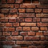 Brick wall. Texture or background Stock Photos