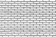 Brick wall. Black and white brick wall vector illustration