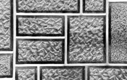 Brick wall. Decorative brick for building walls Royalty Free Stock Image