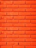 Brick wall. Orange brick wall as background Royalty Free Stock Photo