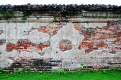 A brick wall. Royalty Free Stock Photos