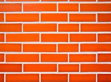 Brick wall. Large brick wall symentrická, good color, wall ice stadium, red and white Royalty Free Stock Photography
