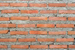 Brick wall. Close-up for background use Royalty Free Stock Photography