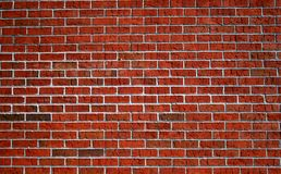 Brick Wall 3. A Red brick wall for backgrounds or wallpaper Stock Photography