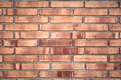 Brick Wall. Old aged brick wall with pattern good for use as background Royalty Free Stock Images