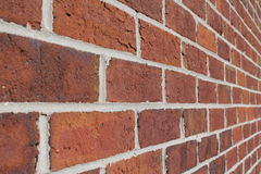 Brick Wall. On a old building Stock Images