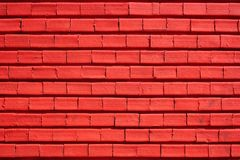 Brick wall. Red brick texture and background stock image