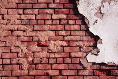Brick Wall. Great background for designers - brick wall Stock Image