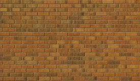 Brick wall. New brown brick wall background royalty free stock image