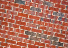 Brick wall. Background image of red brick wall Royalty Free Stock Images
