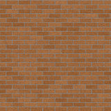 Brick Wall. Brown brick wall for use  as a background Royalty Free Stock Photo