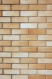 Brick Wall. Brown brick wall textured background royalty free stock photo