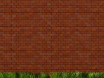 Brick wall. 3d illustration of brick wall Royalty Free Stock Photography