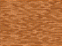 Brick wall stock illustration