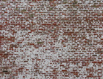 Brick Wall. An old weathered brick wall with great character royalty free stock photography
