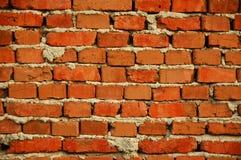 Brick wall. Background wall made of red bricks Royalty Free Stock Photos