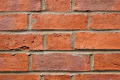 Brick wall. Close up of brick wall showing pattern with brick Royalty Free Stock Photo