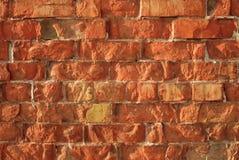 Brick wall. Close-up of old brick wall showing texture royalty free stock photos