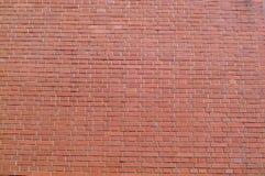 Brick Wall. High colored brick wall stock image