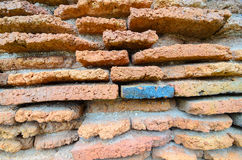 Brick wall. Abstract background with old brick wall Stock Photography