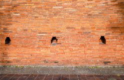 Brick wall, Abstract background with old brick wall. royalty free stock image