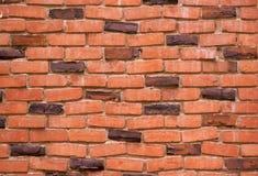 Brick wall with alternating klinkers Stock Photo