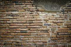 Brick wall - ancient fortress Royalty Free Stock Photography