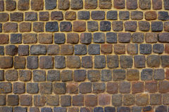 Brick wall - ancient fortress Stock Photography