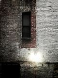 Obsession II. Brick wall architecture outdoors window new York iPhone photography stock image