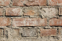 Brick wall as a backgound Royalty Free Stock Photo