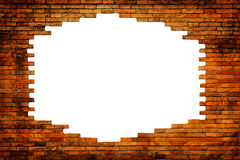 Brick wall as background Stock Photos