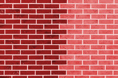 Brick wall as background. Stock Photos
