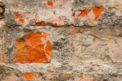 The brick wall as texture Royalty Free Stock Photo