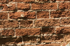 Brick wall, background. Stock Photography
