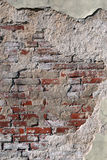 Brick wall for a background. Old brick wall for a background Royalty Free Stock Photography
