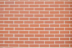 Brick wall. Background of a brick wall Stock Photos