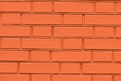 Brick wall. Background. Royalty Free Stock Photography