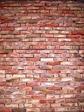 Brick wall background. Red brick wall background - texture Royalty Free Stock Image