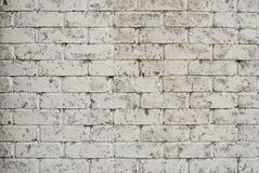 Brick Wall for background stock image