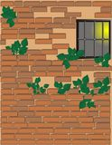 Brick wall background Stock Image