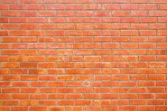 Brick Wall Background. Abstract background with new brick wall. horizontal Royalty Free Stock Photos