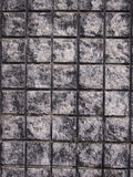 Brick wall background. Background black brick wall of the building work Royalty Free Stock Images