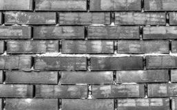 Brick wall background in black and white. Stylish brick wall background in black and white stock images
